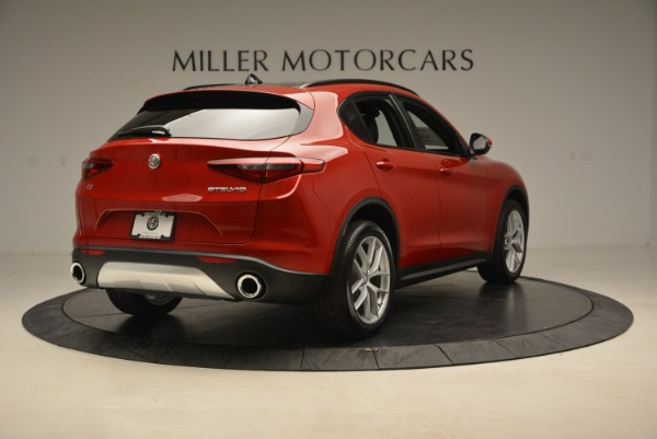 New 2018 Alfa Romeo Stelvio Ti Sport Q4 for sale Sold at Rolls-Royce Motor Cars Greenwich in Greenwich CT 06830 7