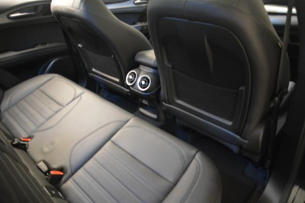 New 2018 Alfa Romeo Stelvio Ti Sport Q4 for sale Sold at Rolls-Royce Motor Cars Greenwich in Greenwich CT 06830 27