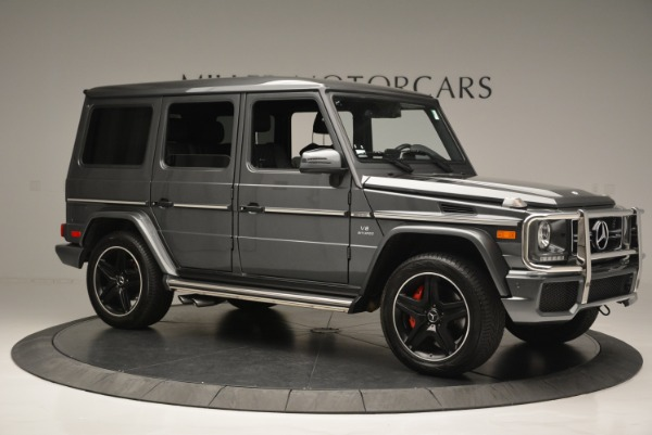 Used 2017 Mercedes-Benz G-Class AMG G 63 for sale Sold at Rolls-Royce Motor Cars Greenwich in Greenwich CT 06830 10