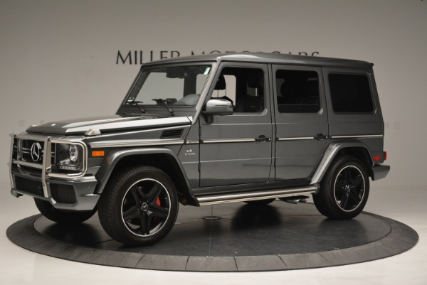 Used 2017 Mercedes-Benz G-Class AMG G 63 for sale Sold at Rolls-Royce Motor Cars Greenwich in Greenwich CT 06830 2