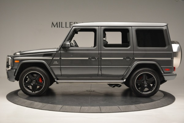 Used 2017 Mercedes-Benz G-Class AMG G 63 for sale Sold at Rolls-Royce Motor Cars Greenwich in Greenwich CT 06830 3