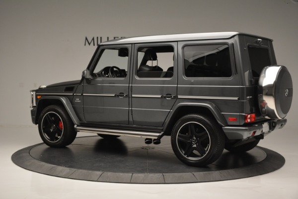 Used 2017 Mercedes-Benz G-Class AMG G 63 for sale Sold at Rolls-Royce Motor Cars Greenwich in Greenwich CT 06830 4