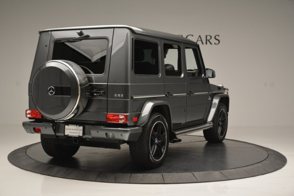 Used 2017 Mercedes-Benz G-Class AMG G 63 for sale Sold at Rolls-Royce Motor Cars Greenwich in Greenwich CT 06830 7