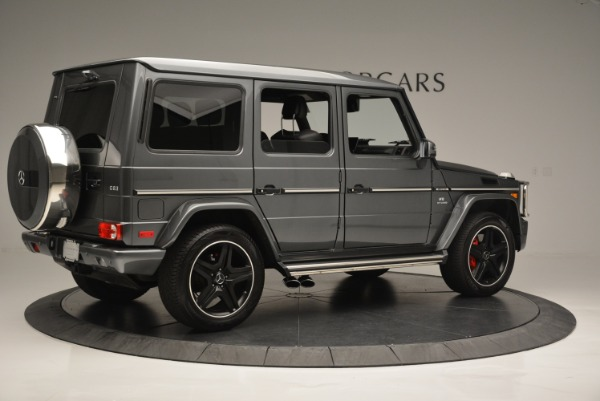 Used 2017 Mercedes-Benz G-Class AMG G 63 for sale Sold at Rolls-Royce Motor Cars Greenwich in Greenwich CT 06830 8