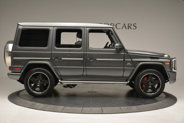 Used 2017 Mercedes-Benz G-Class AMG G 63 for sale Sold at Rolls-Royce Motor Cars Greenwich in Greenwich CT 06830 9