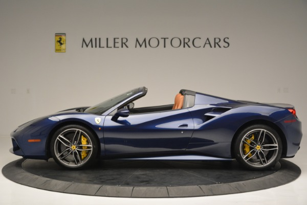 Used 2016 Ferrari 488 Spider for sale Sold at Rolls-Royce Motor Cars Greenwich in Greenwich CT 06830 3