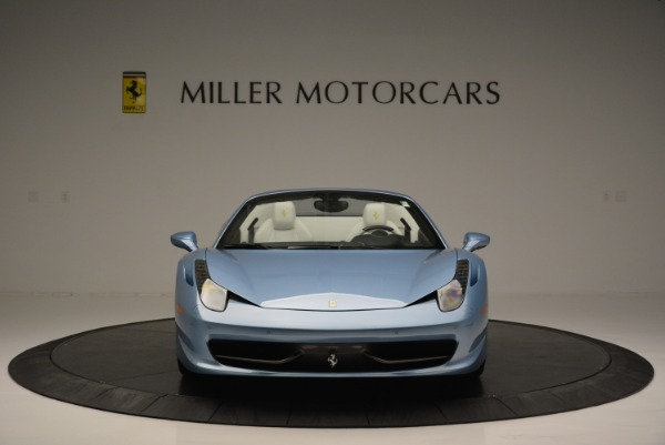 Used 2012 Ferrari 458 Spider for sale Sold at Rolls-Royce Motor Cars Greenwich in Greenwich CT 06830 12