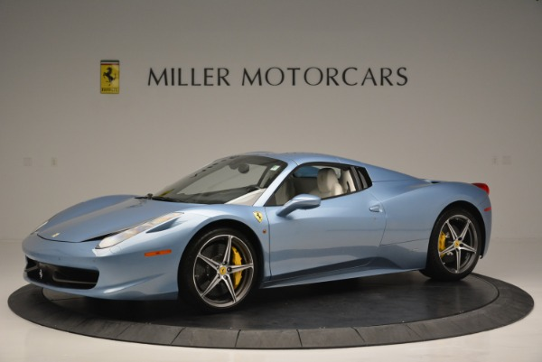 Used 2012 Ferrari 458 Spider for sale Sold at Rolls-Royce Motor Cars Greenwich in Greenwich CT 06830 14