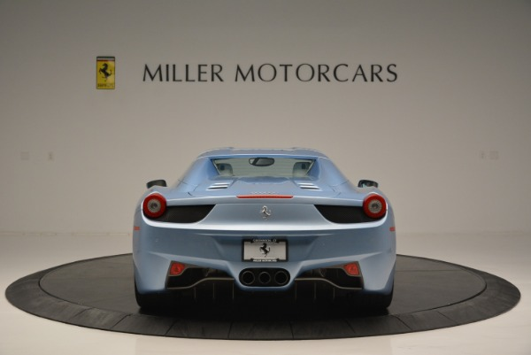 Used 2012 Ferrari 458 Spider for sale Sold at Rolls-Royce Motor Cars Greenwich in Greenwich CT 06830 18