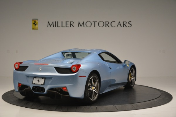 Used 2012 Ferrari 458 Spider for sale Sold at Rolls-Royce Motor Cars Greenwich in Greenwich CT 06830 19