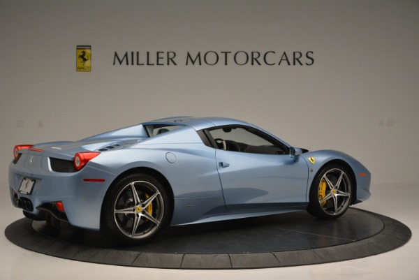 Used 2012 Ferrari 458 Spider for sale Sold at Rolls-Royce Motor Cars Greenwich in Greenwich CT 06830 20