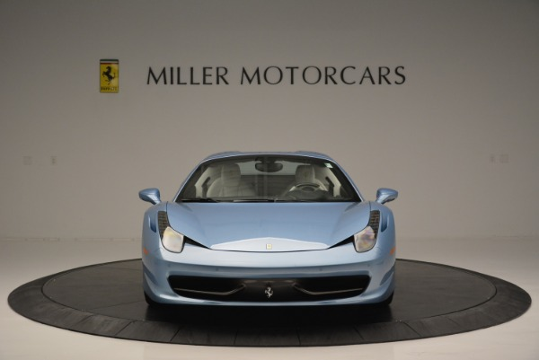 Used 2012 Ferrari 458 Spider for sale Sold at Rolls-Royce Motor Cars Greenwich in Greenwich CT 06830 24