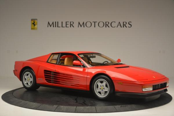 Used 1990 Ferrari Testarossa for sale Sold at Rolls-Royce Motor Cars Greenwich in Greenwich CT 06830 10