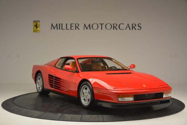Used 1990 Ferrari Testarossa for sale Sold at Rolls-Royce Motor Cars Greenwich in Greenwich CT 06830 11