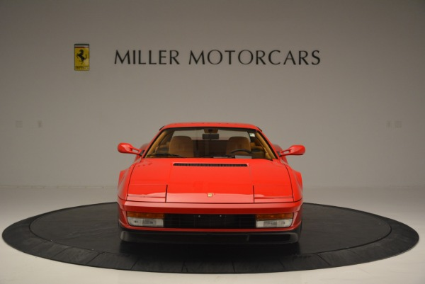 Used 1990 Ferrari Testarossa for sale Sold at Rolls-Royce Motor Cars Greenwich in Greenwich CT 06830 12