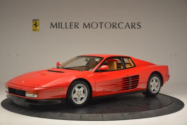 Used 1990 Ferrari Testarossa for sale Sold at Rolls-Royce Motor Cars Greenwich in Greenwich CT 06830 2