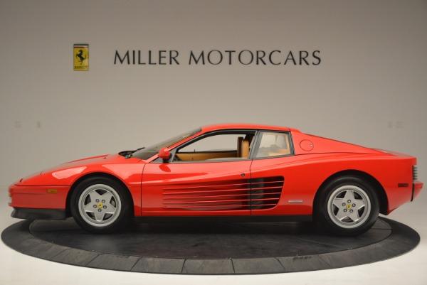 Used 1990 Ferrari Testarossa for sale Sold at Rolls-Royce Motor Cars Greenwich in Greenwich CT 06830 3