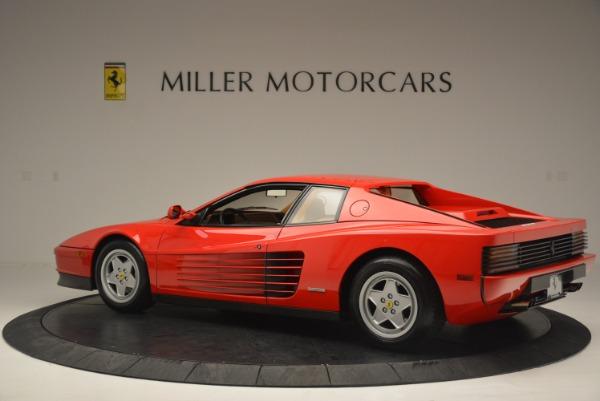 Used 1990 Ferrari Testarossa for sale Sold at Rolls-Royce Motor Cars Greenwich in Greenwich CT 06830 4