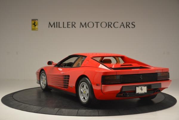 Used 1990 Ferrari Testarossa for sale Sold at Rolls-Royce Motor Cars Greenwich in Greenwich CT 06830 5