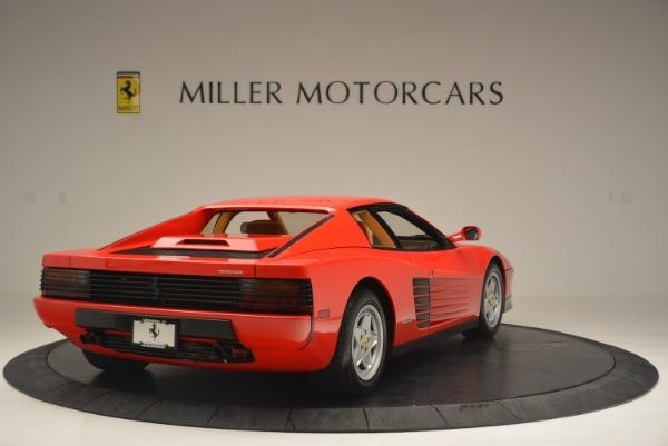 Used 1990 Ferrari Testarossa for sale Sold at Rolls-Royce Motor Cars Greenwich in Greenwich CT 06830 7