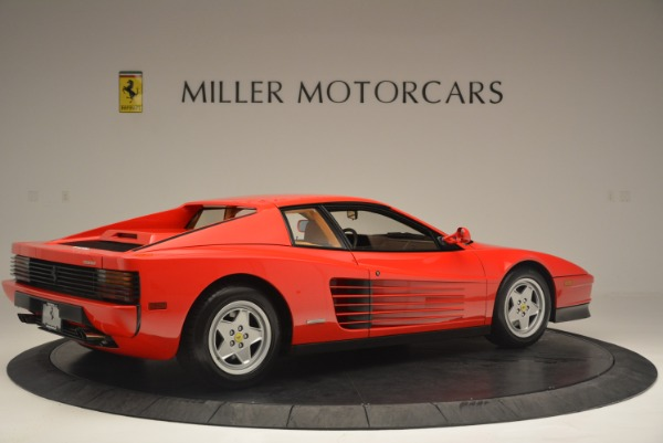 Used 1990 Ferrari Testarossa for sale Sold at Rolls-Royce Motor Cars Greenwich in Greenwich CT 06830 8