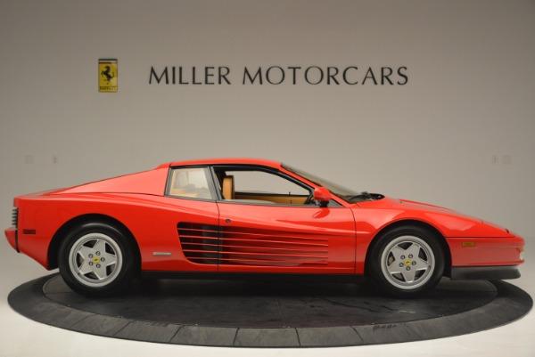 Used 1990 Ferrari Testarossa for sale Sold at Rolls-Royce Motor Cars Greenwich in Greenwich CT 06830 9