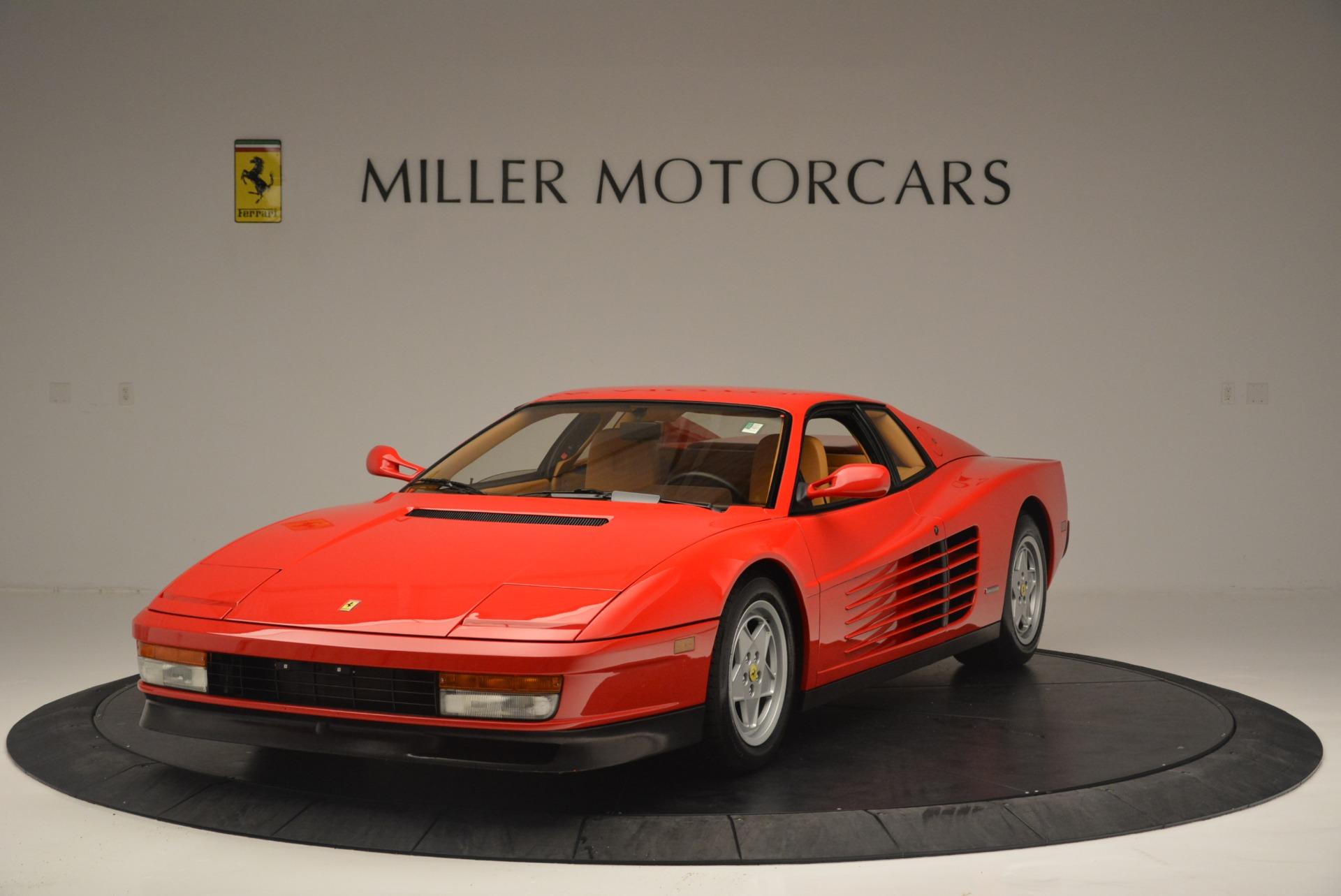 Used 1990 Ferrari Testarossa for sale Sold at Rolls-Royce Motor Cars Greenwich in Greenwich CT 06830 1