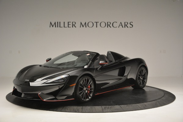 Used 2018 McLaren 570S Spider for sale Sold at Rolls-Royce Motor Cars Greenwich in Greenwich CT 06830 2