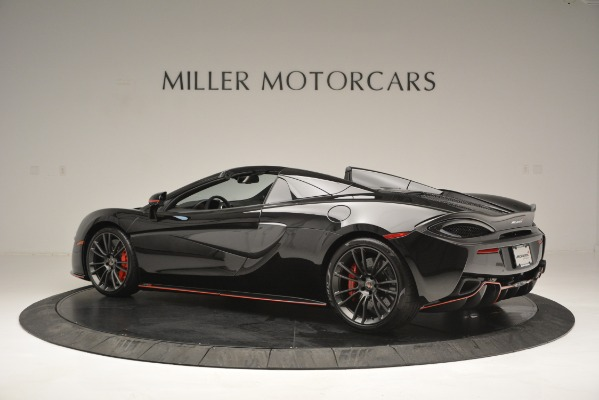 Used 2018 McLaren 570S Spider for sale Sold at Rolls-Royce Motor Cars Greenwich in Greenwich CT 06830 4