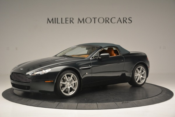 Used 2008 Aston Martin V8 Vantage Roadster for sale Sold at Rolls-Royce Motor Cars Greenwich in Greenwich CT 06830 10