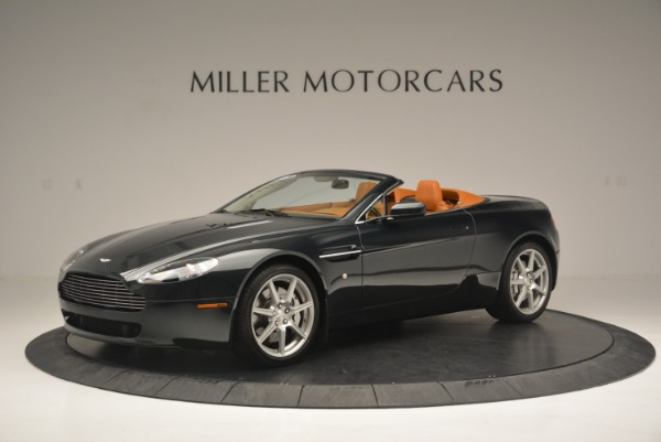 Used 2008 Aston Martin V8 Vantage Roadster for sale Sold at Rolls-Royce Motor Cars Greenwich in Greenwich CT 06830 2