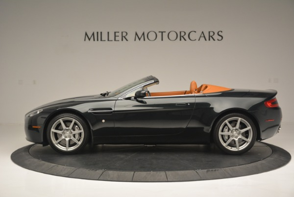 Used 2008 Aston Martin V8 Vantage Roadster for sale Sold at Rolls-Royce Motor Cars Greenwich in Greenwich CT 06830 3