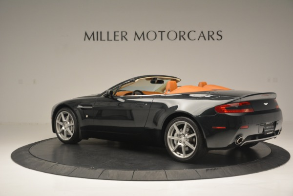 Used 2008 Aston Martin V8 Vantage Roadster for sale Sold at Rolls-Royce Motor Cars Greenwich in Greenwich CT 06830 4