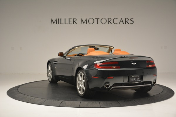 Used 2008 Aston Martin V8 Vantage Roadster for sale Sold at Rolls-Royce Motor Cars Greenwich in Greenwich CT 06830 5