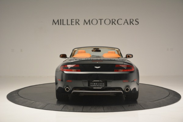 Used 2008 Aston Martin V8 Vantage Roadster for sale Sold at Rolls-Royce Motor Cars Greenwich in Greenwich CT 06830 6