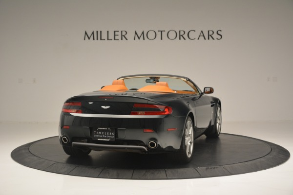 Used 2008 Aston Martin V8 Vantage Roadster for sale Sold at Rolls-Royce Motor Cars Greenwich in Greenwich CT 06830 7