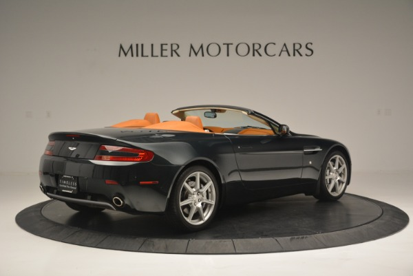 Used 2008 Aston Martin V8 Vantage Roadster for sale Sold at Rolls-Royce Motor Cars Greenwich in Greenwich CT 06830 8