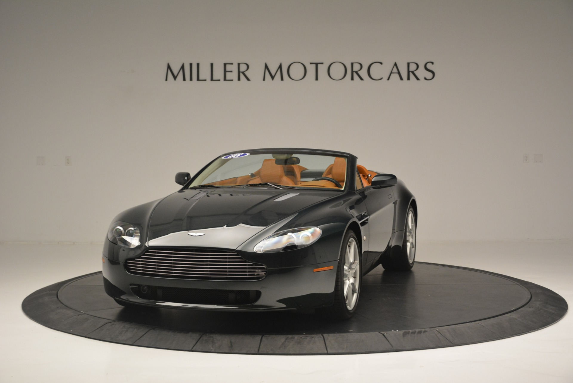 Used 2008 Aston Martin V8 Vantage Roadster for sale Sold at Rolls-Royce Motor Cars Greenwich in Greenwich CT 06830 1