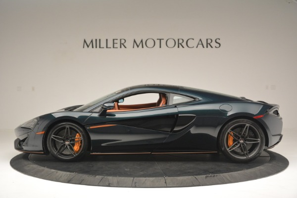 New 2018 McLaren 570GT Coupe for sale Sold at Rolls-Royce Motor Cars Greenwich in Greenwich CT 06830 3