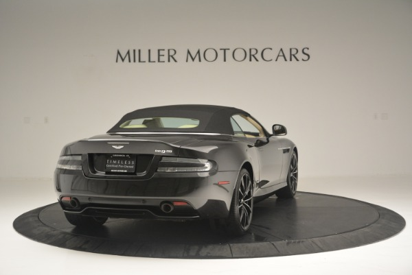 Used 2016 Aston Martin DB9 GT Volante for sale Sold at Rolls-Royce Motor Cars Greenwich in Greenwich CT 06830 19