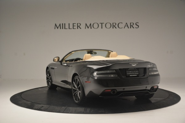 Used 2016 Aston Martin DB9 GT Volante for sale Sold at Rolls-Royce Motor Cars Greenwich in Greenwich CT 06830 5