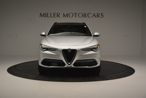 New 2018 Alfa Romeo Stelvio Ti Sport Q4 for sale Sold at Rolls-Royce Motor Cars Greenwich in Greenwich CT 06830 13