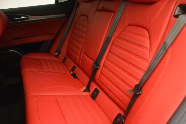 Used 2018 Alfa Romeo Stelvio Ti Sport Q4 for sale $36,900 at Rolls-Royce Motor Cars Greenwich in Greenwich CT 06830 17