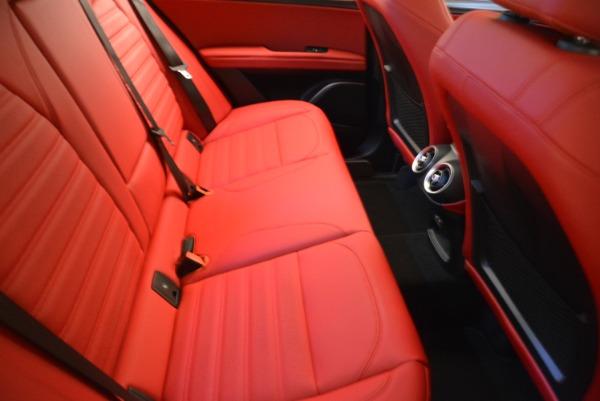 Used 2018 Alfa Romeo Stelvio Ti Sport Q4 for sale $36,900 at Rolls-Royce Motor Cars Greenwich in Greenwich CT 06830 21