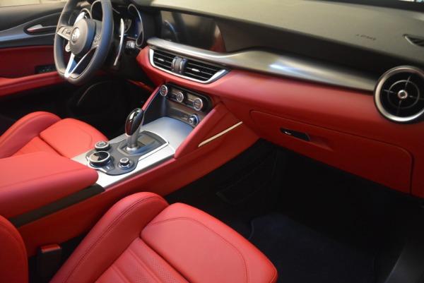 Used 2018 Alfa Romeo Stelvio Ti Sport Q4 for sale $36,900 at Rolls-Royce Motor Cars Greenwich in Greenwich CT 06830 23