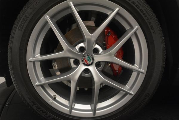 Used 2018 Alfa Romeo Stelvio Ti Sport Q4 for sale $36,900 at Rolls-Royce Motor Cars Greenwich in Greenwich CT 06830 26