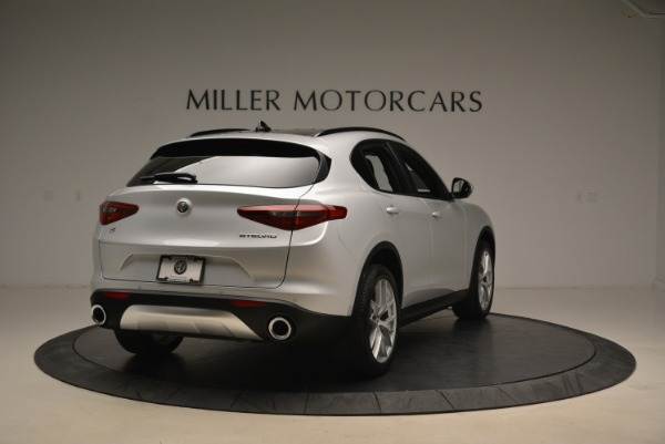 New 2018 Alfa Romeo Stelvio Ti Sport Q4 for sale Sold at Rolls-Royce Motor Cars Greenwich in Greenwich CT 06830 7