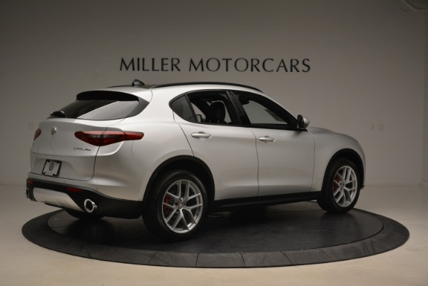 New 2018 Alfa Romeo Stelvio Ti Sport Q4 for sale Sold at Rolls-Royce Motor Cars Greenwich in Greenwich CT 06830 8