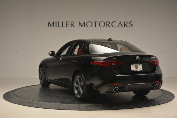 New 2018 Alfa Romeo Giulia Sport Q4 for sale Sold at Rolls-Royce Motor Cars Greenwich in Greenwich CT 06830 5