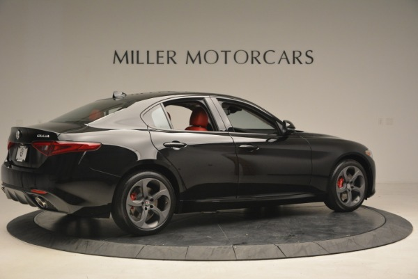 New 2018 Alfa Romeo Giulia Sport Q4 for sale Sold at Rolls-Royce Motor Cars Greenwich in Greenwich CT 06830 8